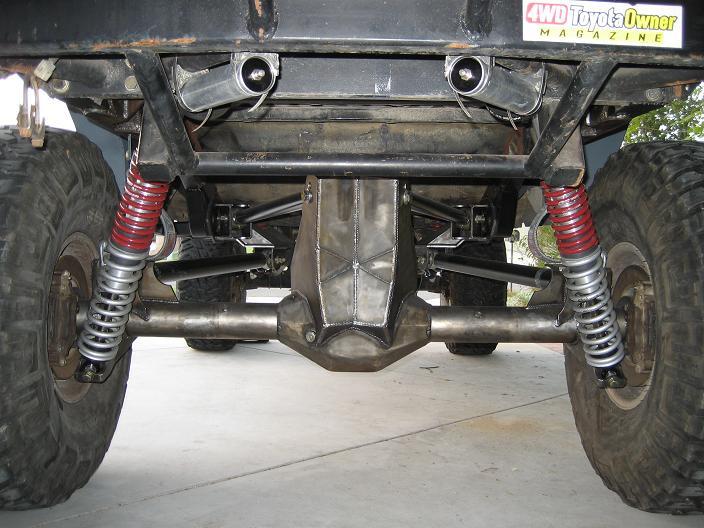 95-04 Tacoma Rear 4 Link Suspension System
